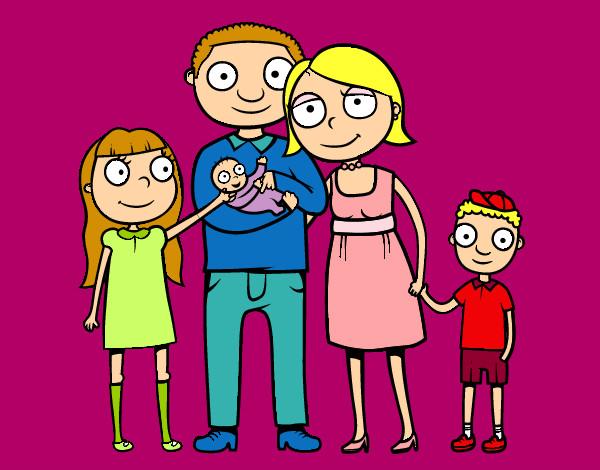 Dibujo de my family pintado por Cacaa en Dibujos.net el día 16-09 ...