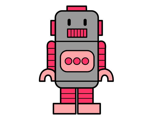 Dibujo de Chica Robot pintado por Renula en Dibujos.net el día 11 ...