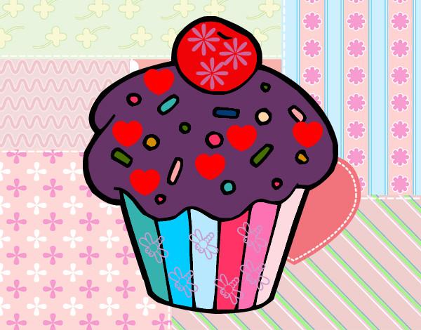 Pin Dibujos De Cupcakes Para Imprimir Imagenes Y Cake On