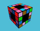 Dibujo Cubo de Rubik pintado por dulce22