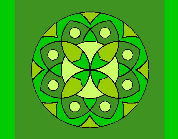 Dibujo de cuarto chakra pintado por Rapunzell en Dibujos.net el día ...