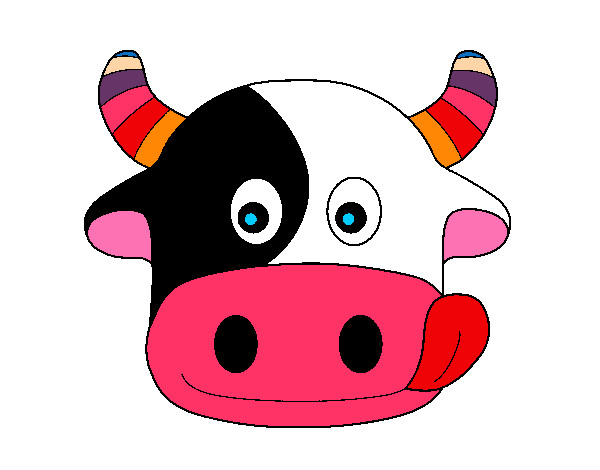 Imagenes Vacas Animadas: Imagenes Mascaras Vacas