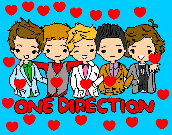 Dibujo de one direction love pintado por Antonita55 en Dibujos.net ...