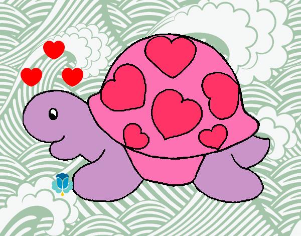 Dibujo De Mi Tortuguita Color Rosa Pintado Por Natashaty En Dibujos