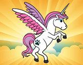 Dibujo Unicornio joven pintado por alis88