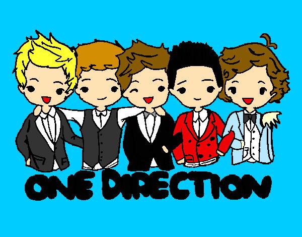 Dibujo de one direction pintado por Sandy7star en Dibujos.net el ...