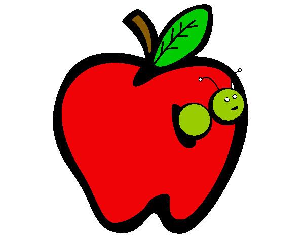 Dibujo de el gusano feliz pintado por Panzon en Dibujosnet el da