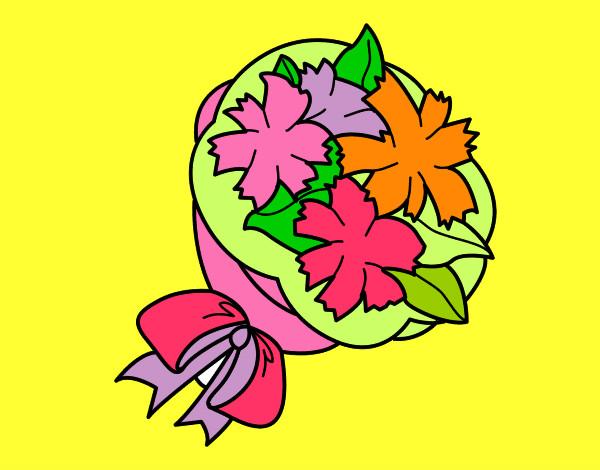 Dibujo de Flores para la maestra pintado por Terecoll en Dibujos