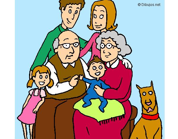 Dibujo de Familia pintado por Tanxita en Dibujosnet el da 2010