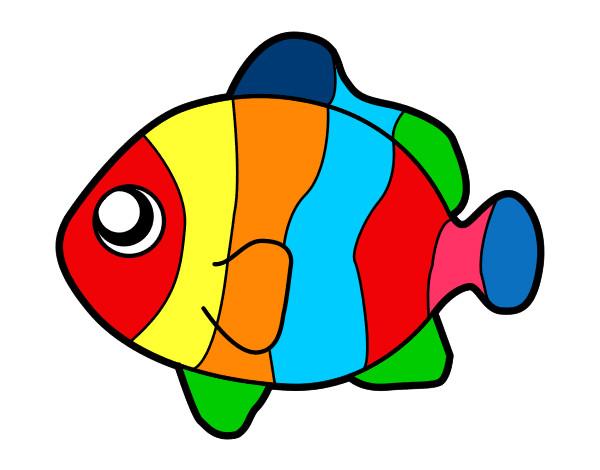 Dibujo de Fish Colors pintado por Glendasans en Dibujos.net el día ...