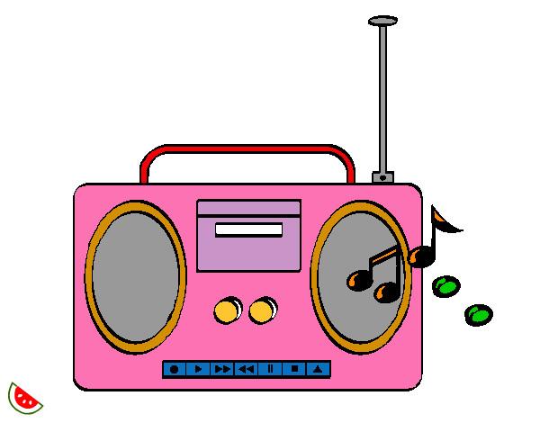 Resultado de imagen de radio dibujo