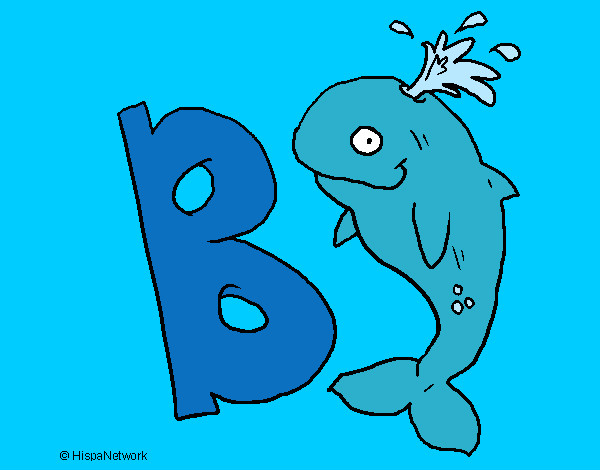 Dibujo de Letra B pintado por Timigui en Dibujosnet el da 2710