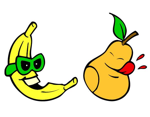 Dibujo de Frutas locas pintado por Pieyu en Dibujosnet el da 23