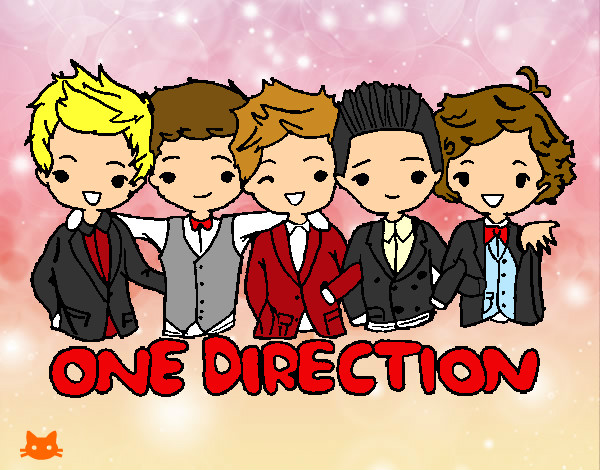 one direction en animado :)