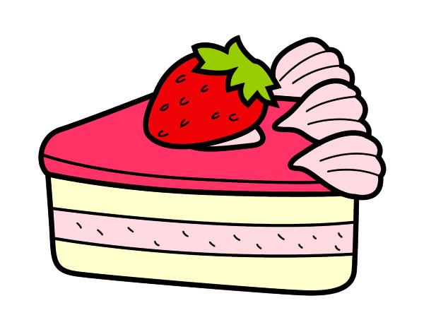 Dibujo de Tarta de fresa pintado por Anniemch en Dibujos.net el ...