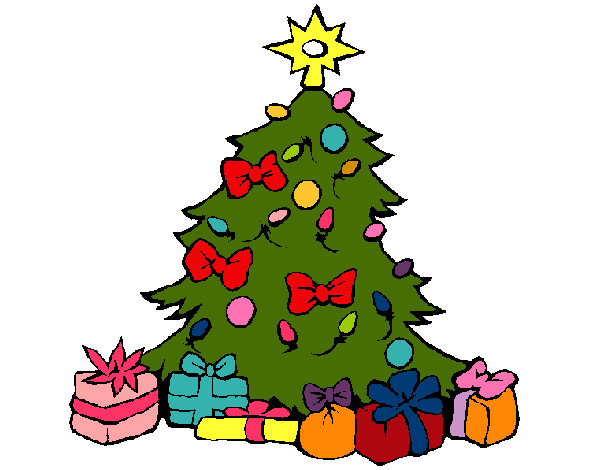 Como dibujar un arbolito de navidad imagui for Dibujo arbol navidad