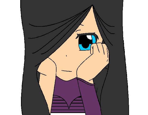 Animes Emos Tristes Para Dibujar