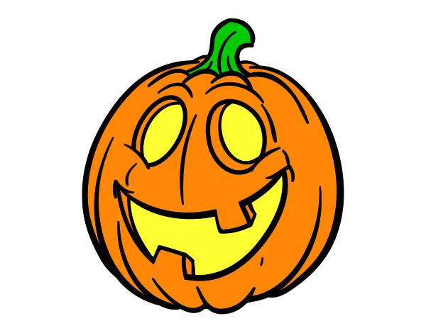 Dibujo de mi calabaza pintado por maria31 en - Calabazas halloween para imprimir ...