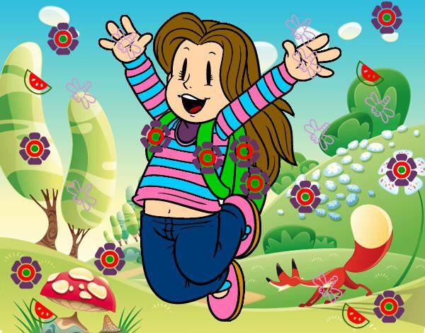 Dibujo de La escuela!!! pintado por Irene01 en Dibujos.net el día ...