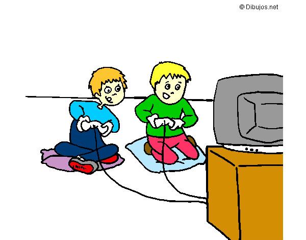 Dibujo De Videojuegos Pintado Por Soniajacqu En Dibujos Net El Dia