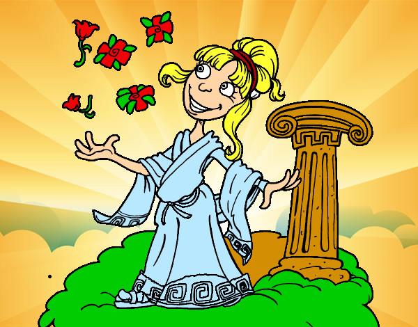 diosa grecia: