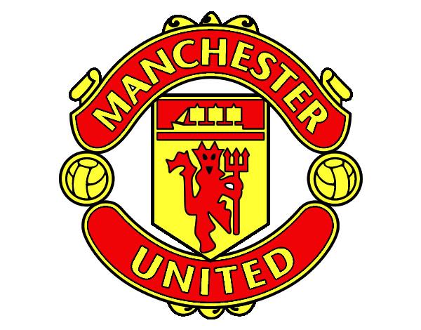 Dibujo De Futbol Pintado Por Maarta En Dibujos Net El Día: Dibujo De Escudo Del Manchester United Pintado Por