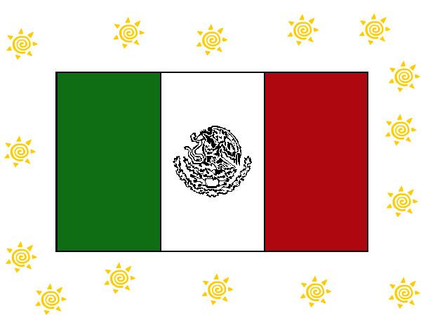 Dibujo De Nacionalidades Para Colorear: Dibujo De Mi Bandera Pintado Por Marte En Dibujos.net El