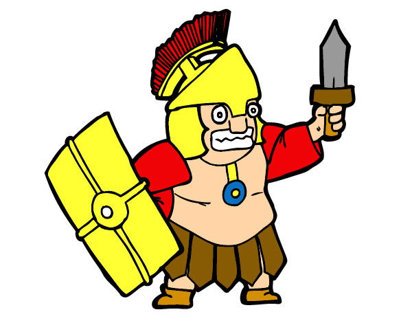 Dibujo de Espartano - Romano pintado por Samuman en Dibujos.net el ...