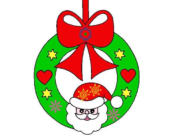 Dibujo de corona pintado por nicky20 en el d a for Dibujos de navidad pintados