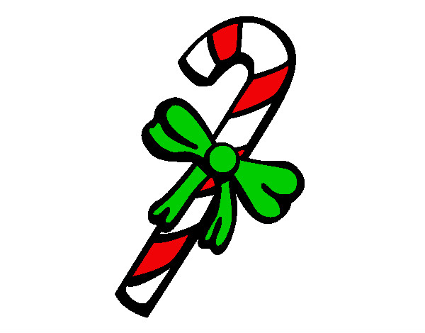 Dibujo de caramelo navide o pintado por saritha en - Caramelos de navidad ...