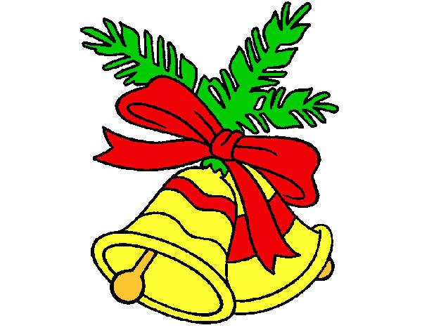 Dibujo de campanas pintado por adriana21 en el - Dibujos de navidad en color ...