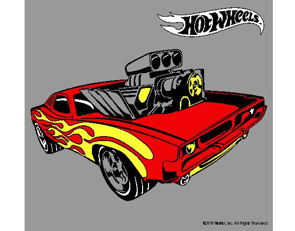 Dibujo de Hot Wheels 11 pintado por Asael en Dibujosnet el da 25