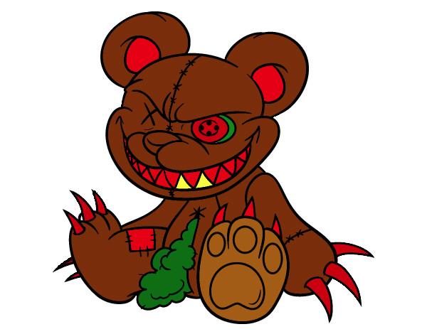 Dibujo de Ted mato a jhon pintado por Dantexd en Dibujosnet el