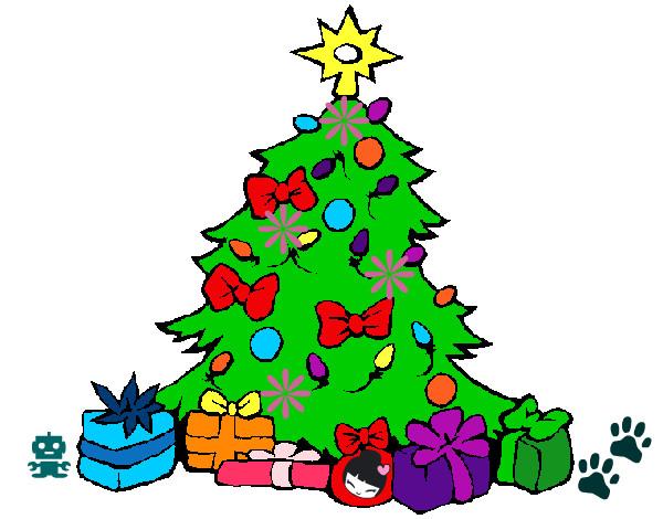 Dibujos para colorear de trineos de navidad holidays oo - Dibujos de arboles de navidad ...