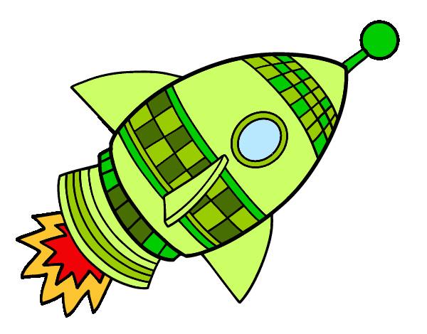 Cohete De Astronauta Y Vintage De Dibujos Animados: Extraterrestre-en-nave-espacial-espacio-9948311.jpg (600