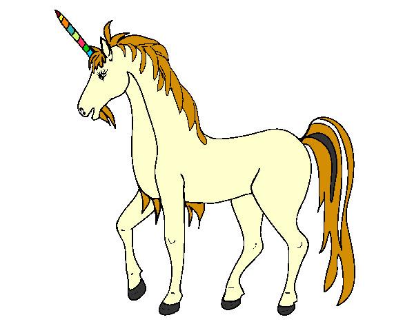 Dibujo de unicorneo fantacia pintado por Silviafer en Dibujos.net el ...