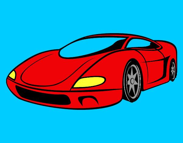 Dibujo de El carro superipe pintado por Billmely en Dibujosnet el