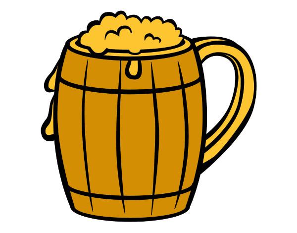 Botella De Cerveza Dibujo: Dibujo De Cerveza Pintado Por Saul1 En Dibujos.net El Día