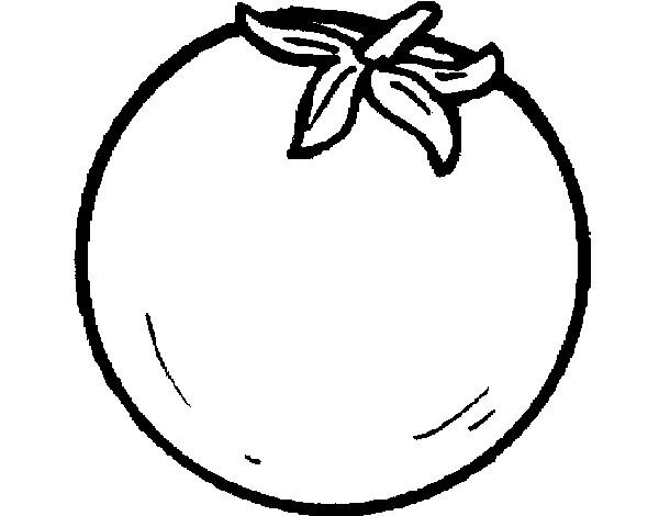 Dibujo de naranja sin pintar pintado por Marializ en Dibujos.net ...