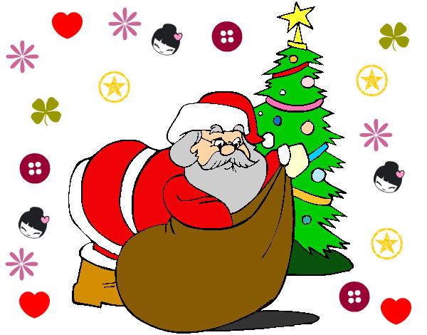 Dibujo de hola pintado por princool en el d a - Dibujos de navidad en color ...