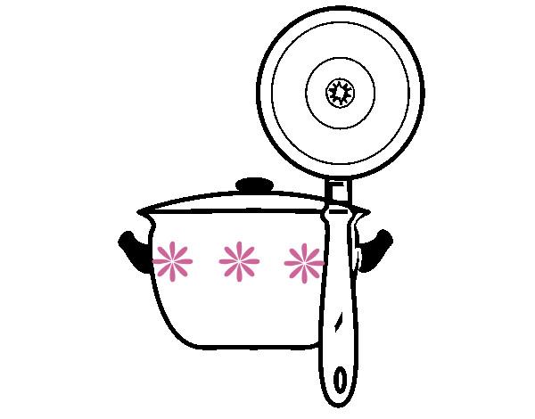 Utensilios dibujo imagui for Dibujos de cocina