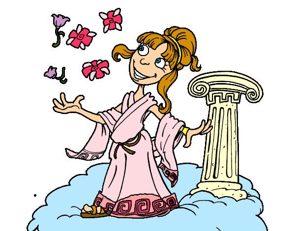 Dibujo de Diosa Atenea pintado por Blancag en Dibujos.net el día ...
