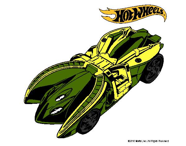 Dibujo De Cabezazo Pintado Por Espinosa En Dibujos Net El: Dibujo De Hot Wheels 7 Pintado Por Espinosa En Dibujos.net