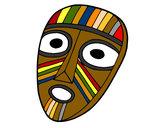 Dibujo Máscara sorprendida pintado por reick