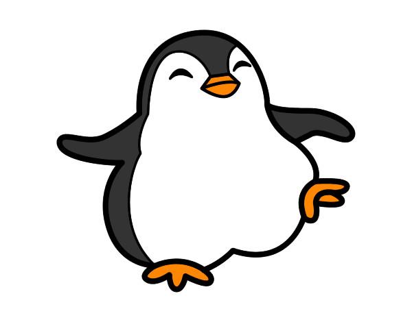 Dibujo de pinguino pintado por Patosber en Dibujos.net el día 29-12 ...