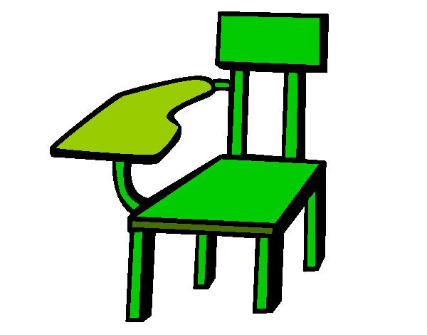 Dibujo de silla escolar pintado por viktorenge en dibujos for Dibujos para comedor escolar