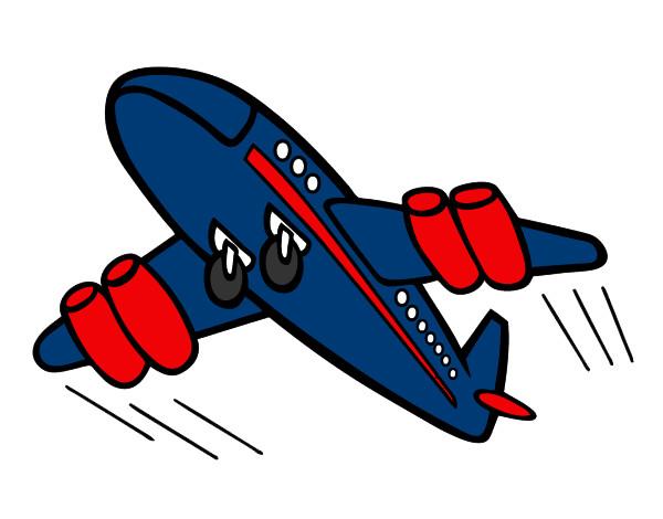 Dibujo De Avión Rápido Pintado Por Norigazoch En Dibujosnet El Día