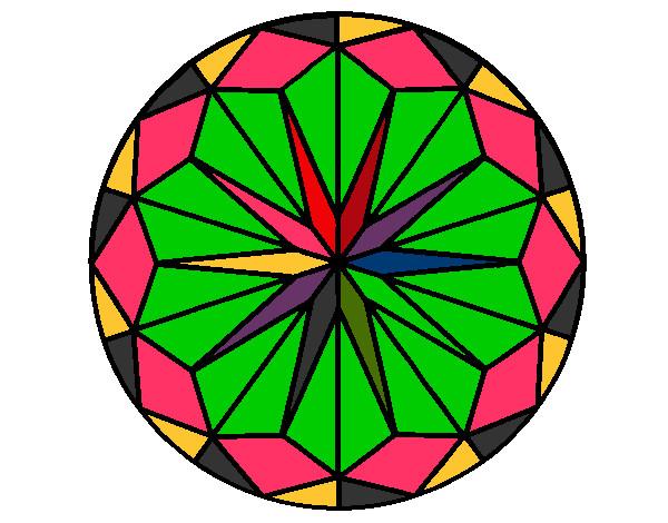Mandalas ya pintados de colores imagui - Imagenes de colores calidos ...