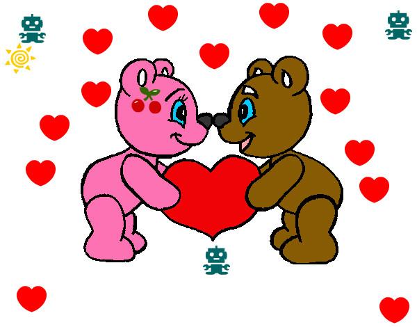 Dibujos Para Colorear Del Dia De Los Enamorados: Dibujo De :) Pintado Por Prinzes En Dibujos.net El Día 01
