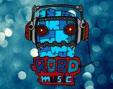 Dibujo Robot music pintado por Ricky-tron